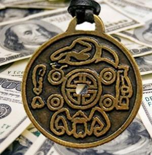 money amulet Amuleto Fortunatamente